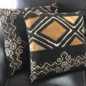 Other - African Mud Cloth Accent Pillow Covers